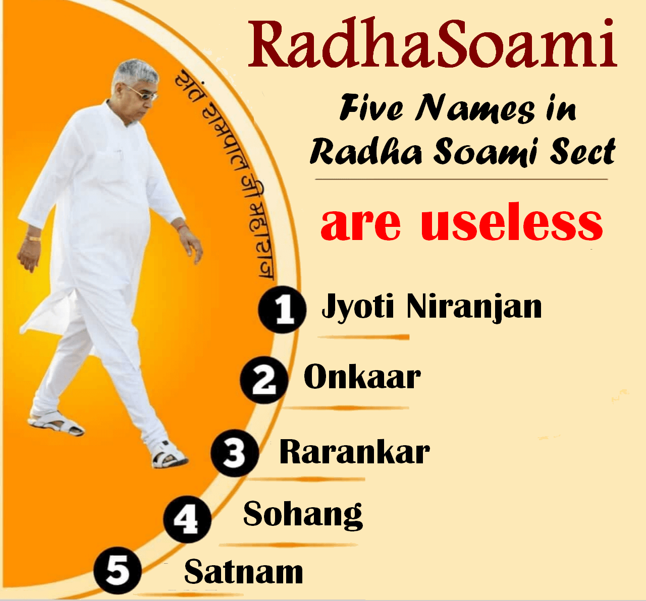 Panch Naam in Radhasoami